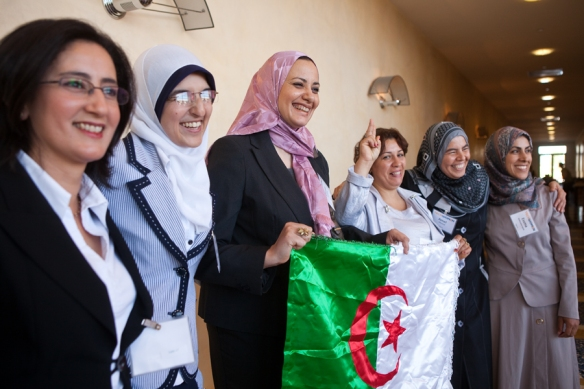 TechWomen Emerging Leaders from Algeria